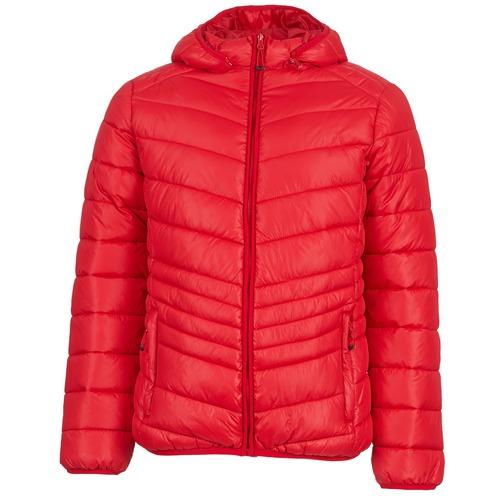 textil Hombre plumas Yurban DAVE Rojo