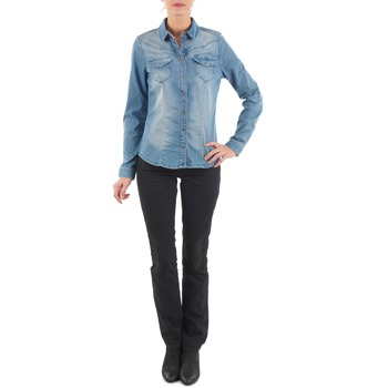textil Mujer vaqueros rectos Diesel MYBOY TROUSERS Negro