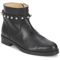 Zapatos Mujer Botas de caña baja Moschino Cheap & CHIC CA21102MOYCE0000 Negro