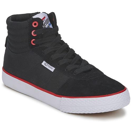 Zapatos Zapatillas altas Feiyue A.S HIGH SKATE Negro