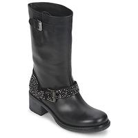 Zapatos Mujer Botas de caña baja Janet Sport CARYFENO Negro