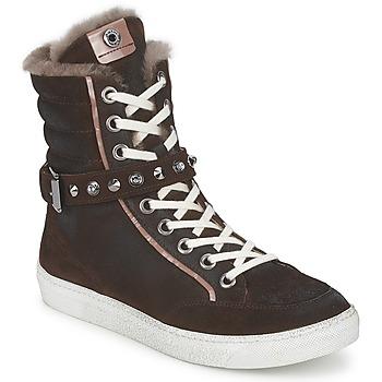 Zapatos Mujer Zapatillas altas Janet Sport MOROBRAD Marrón