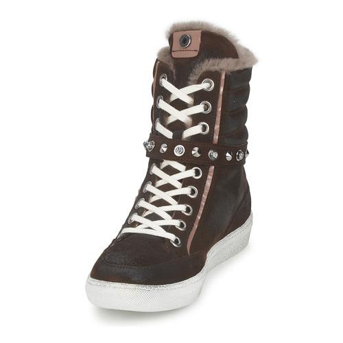 Zapatos Janet Sport Mujer Altas Morobrad Marrón Zapatillas WIEYeH29Db