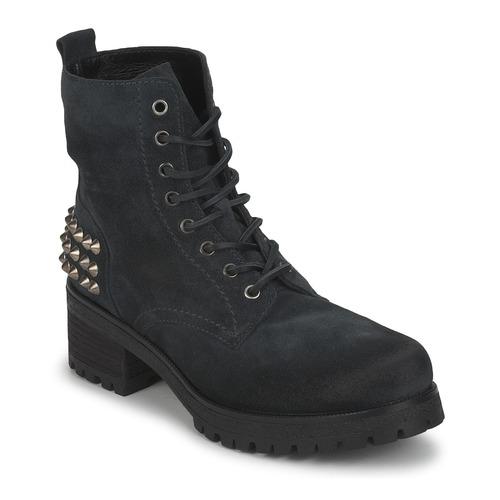 Casual salvaje Zapatos especiales JFK SIMAIT Negro