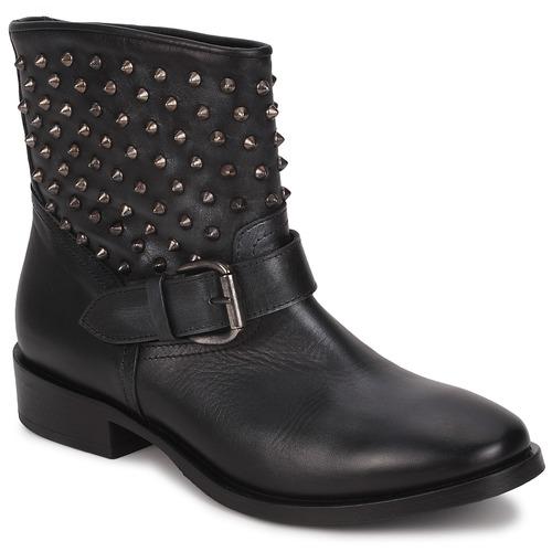 Zapatos Mujer Botas de caña baja JFK BARBALA Negro