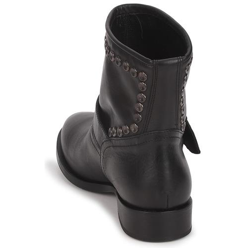 Mujer De Baja Maselle Botas Caña Negro Zapatos Jfk gym76bvIYf