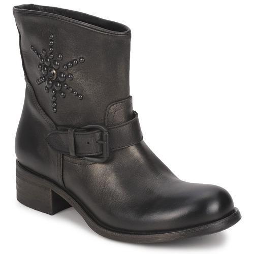 Venta de liquidación de temporada Zapatos especiales JFK OSSIR Negro