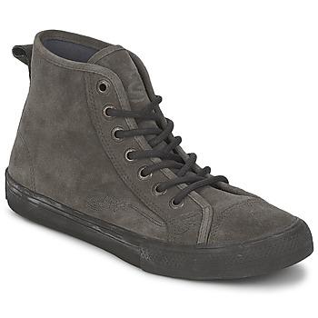 Zapatos Mujer Zapatillas altas Ed Hardy OIL SPILL 200 Gris