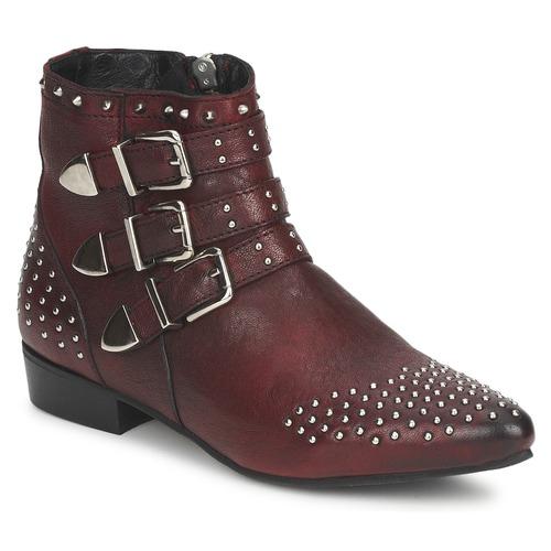 Koah FYONA Burdeo - Envío gratis Botas Nueva promoción - Zapatos Botas gratis de caña baja Mujer 184,00 63de94