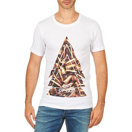 textil Hombre camisetas manga corta Eleven Paris CITYGOD M MEN Blanco