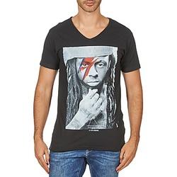 textil Hombre camisetas manga corta Eleven Paris KAWAY M MEN Negro