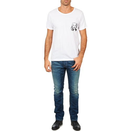 Textil Hombre Paris Camisetas Corta Manga Kmpock Blanco Eleven Men QdtxhsrC
