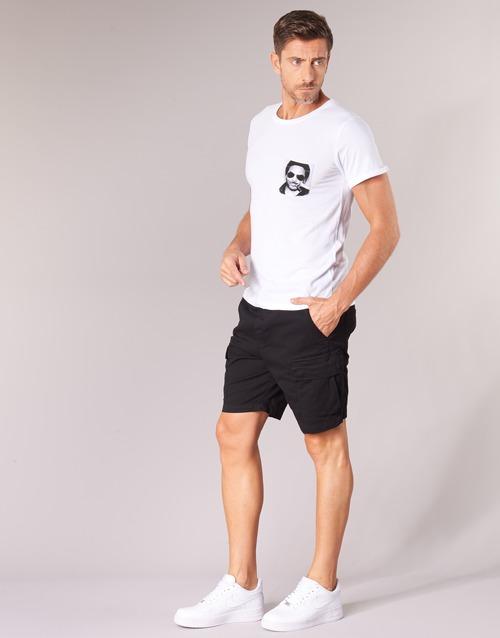 Lennypock Men Manga Eleven Textil Paris Corta Blanco Hombre Camisetas 34L5jqAR