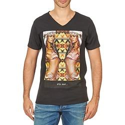 textil Hombre camisetas manga corta Eleven Paris N35 M MEN Negro