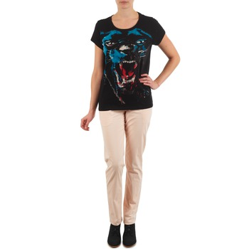 textil Mujer pantalones chinos Eleven Paris PANDORE WOMEN Rosa