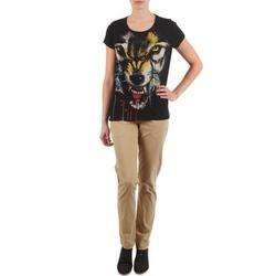 textil Mujer pantalones chinos Eleven Paris PANDORE WOMEN Beige