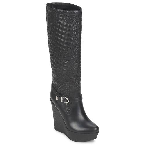 Zapatos Mujer Botas urbanas Versace DSL909R Negro