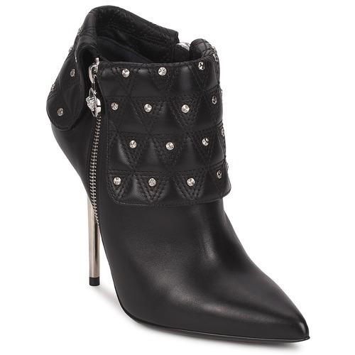 Dsl894p Negro Zapatos Versace Mujer Botines pjUMVqSLzG