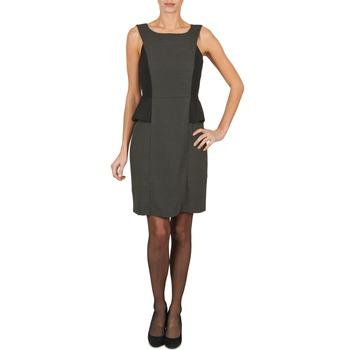 textil Mujer vestidos cortos Manoukian PEPLUM Negro