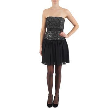 textil Mujer vestidos cortos Manoukian JENNI Negro