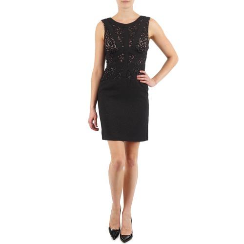 textil Mujer vestidos cortos Manoukian EILEEN Negro