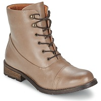 Botas de caña baja Pieces SENIDA LEATHER BOOT