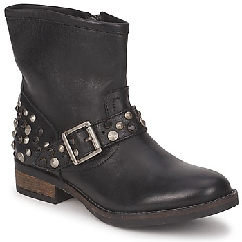 Botas de caña baja Pieces ISADORA LEATHER BOOT