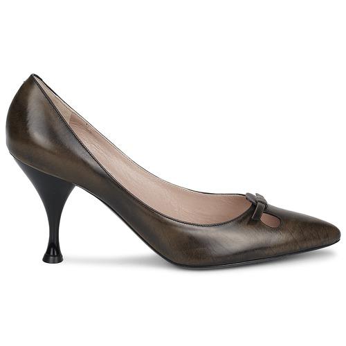 Malizia Tacón Marc Mujer Jacobs Zapatos Marrón De 45RA3Lj