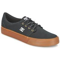 Zapatos Hombre Zapatillas bajas DC Shoes TRASE TX Negro / DORADO
