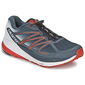 Zapatos Hombre Running / trail Salomon SENSE PROPULSE Gris / Rojo