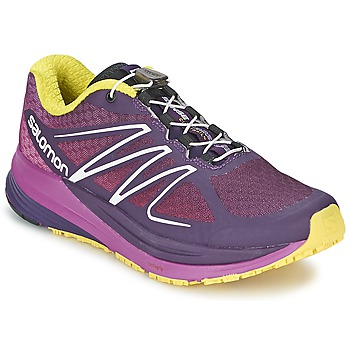 Zapatos Mujer Running / trail Salomon SENSE PROPULSE W Violeta / Rosa / Amarillo