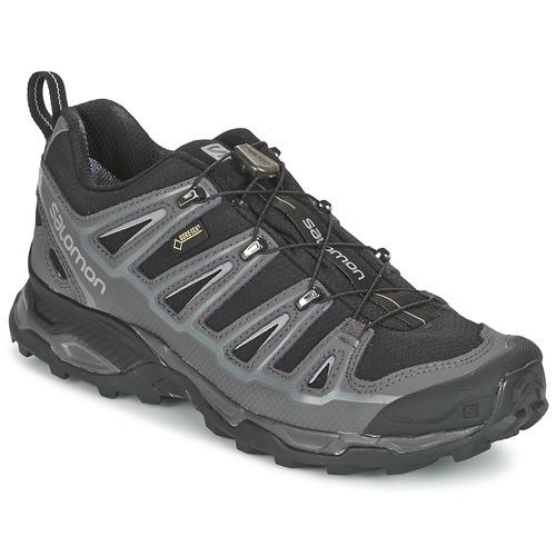 Zapatos Hombre Senderismo Salomon X ULTRA 2 GTX Negro / Gris