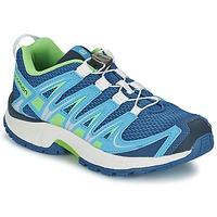 Zapatos Niños Multideporte Salomon XA PRO 3D JUNIOR Azul / Verde
