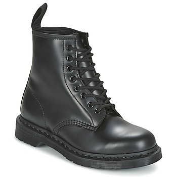 Zapatos Botas de caña baja Dr Martens 1460 MONO Negro / Smooth