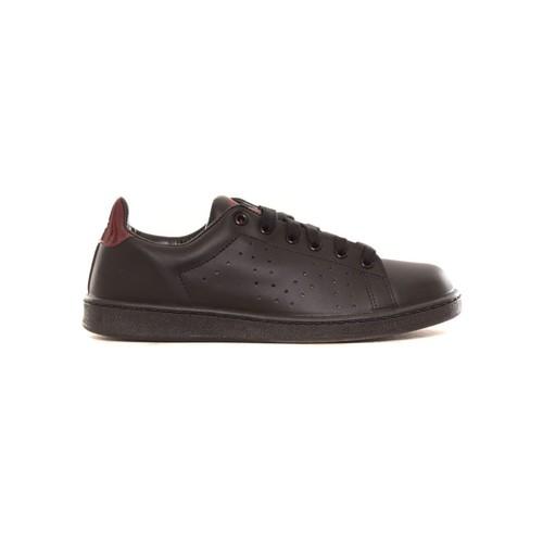 Zapatos Mujer Zapatillas bajas Cassis Côte d'Azur Baskets Marine noir et bordeaux Negro