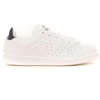 Zapatos Mujer Zapatillas bajas Cassis Côte d'Azur Baskets Marine blanc et marine Blanco