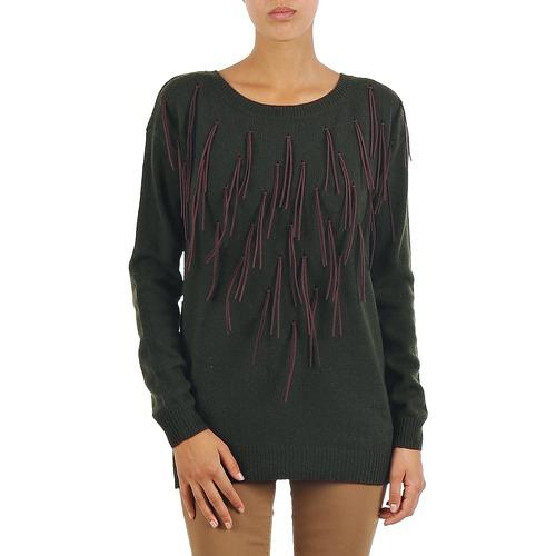 textil Mujer jerséis Vero Moda SEATTLE LS FRILL BLOUSE Gris