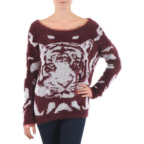 textil Mujer jerséis Vero Moda TIGER LS BLOUSE Burdeo