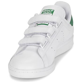 adidas Originals STAN SMITH CF Blanco / Verde
