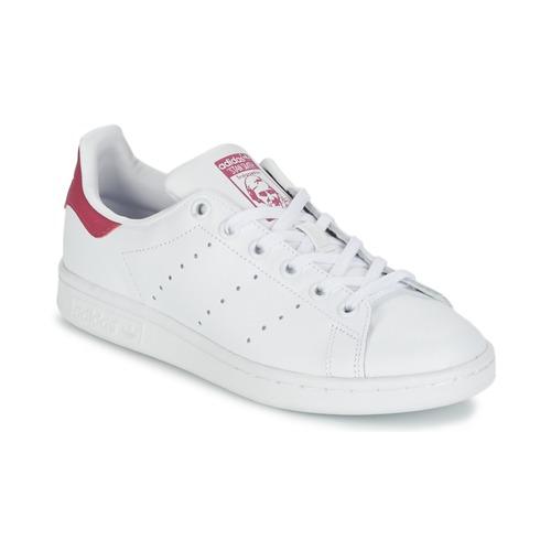 adidas Originals STAN SMITH J Blanco - Envío gratis | ! - Zapatos Deportivas bajas Nino