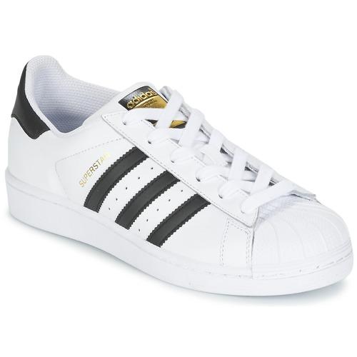 Meseta sensibilidad Curiosidad  adidas Originals SUPERSTAR Blanco / Negro - Envío gratis | Spartoo.es ! -  Zapatos Deportivas bajas Nino 56,00 €