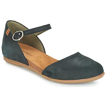 Zapatos Mujer Bailarinas-manoletinas El Naturalista STELLA Negro