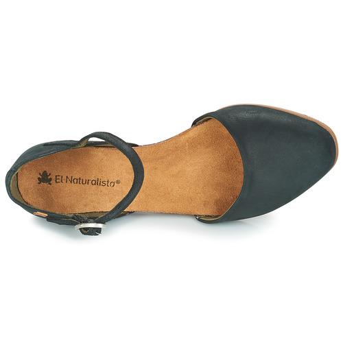 Stella Naturalista Negro Mujer Sandalias El Zapatos SpGUzMqV