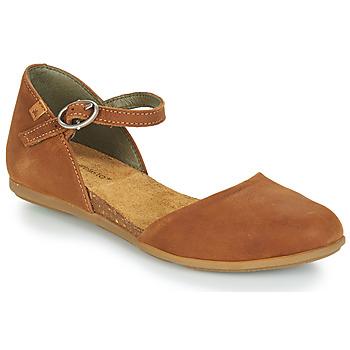 Zapatos Mujer Bailarinas-manoletinas El Naturalista STELLA Marrón