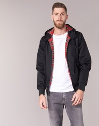 textil Hombre cazadoras Harrington HARRINGTON HOODED Negro