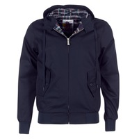 textil Hombre cazadoras Harrington HARRINGTON HOODED Marino
