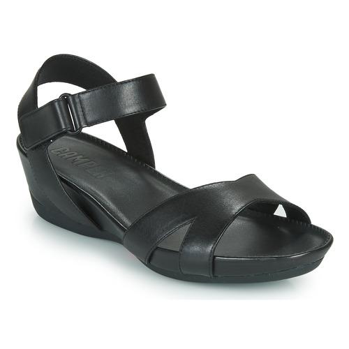 Mujer Camper Micro Negro Sandalias Zapatos QtosCrBhdx