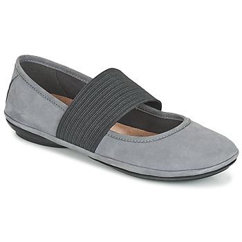 Zapatos Mujer Bailarinas-manoletinas Camper RIGHT NINA Gris