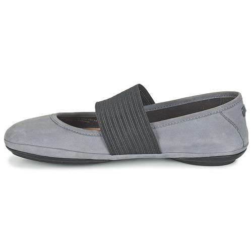 Zapatos promocionales Camper RIGHT NINA Gris  Gran descuento