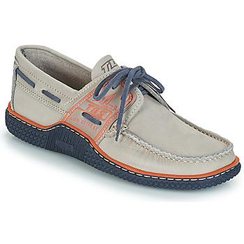Zapatos Hombre Zapatos náuticos TBS GLOBEK Gris